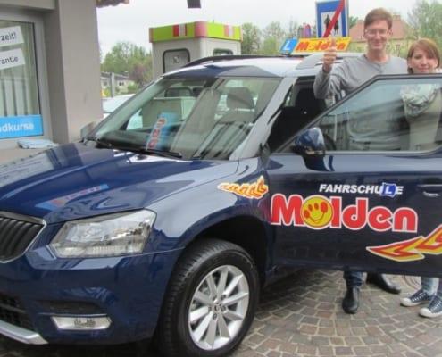 B Führerschein Ausbildung bei Fahrschule Molden
