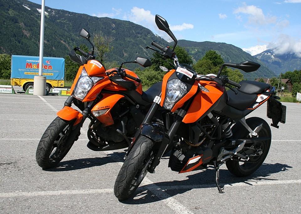 Motorrad Ausbildung bei Fahrschule Molden